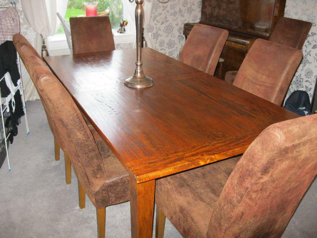 Dining table chairs and sideboard in Corstorphine  : 86 from www.gumtree.com size 1024 x 768 jpeg 122kB