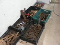 large assortment of tools for sale
