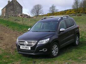 VW Tiguan 2.0TDi 4 motion with rare leather interior