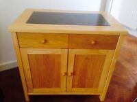 Solid Wood kitchen storage unit