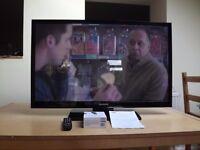"Samsung Plasma TV 43"" plus chromecast"