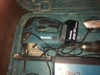 Makita jig saw an drill