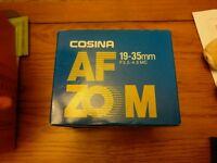 Cosina 19-35mm SLR DSLR Canon Lens