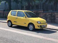 2000 Fiat Seicento 1.1 Sporting 3 Door Hatchback, Long MOT, Full service history!