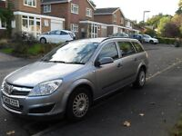 LOVELY 1 OWNER VAUXHALL ASTRA DIESEL ESTATE CHEAP TAX AND INSURANCE 2008 FSH