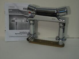 Shower thermostatic mixer tap