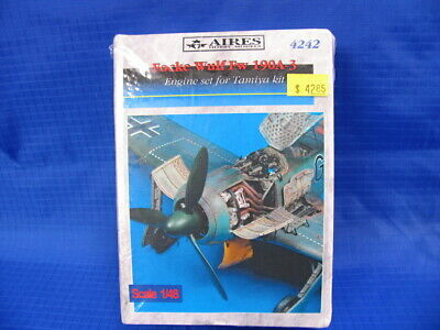 Aires Hobby 4242 1:48 Fw190A3 Engine Set For Tamiya kit G3