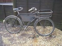 raleigh tradesman bicycle vintage