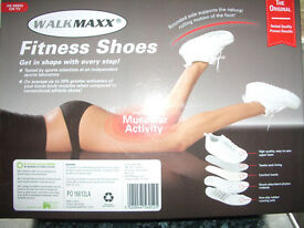 WALKMAXX THE ORIGINAL ROCKING MOTION SHOES SEEN ON TV LADIES RUNNING WALKING TRAINERS UK6 RRP£89