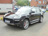 2007 PORSCHE CAYENNE TURBO TIP-S BLACK