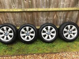 """Bmw 16"""" Alloys wheels"""