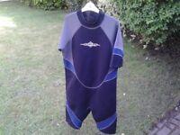 Shortie Osprey size XXXL wetsuit excellent condition