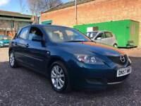 2007 5 door Mazda 3 - 1.6 ts2 petrol - long Mot - bargain