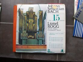 Large collection (200+) classical records - vinyl, many Bach