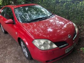 2005 NISSAN PRIMERA FOR SALE