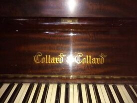Piano, Collard and Collard, (needs tuning)