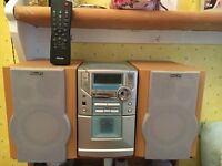 Philips HiFi Stereo with Speakers