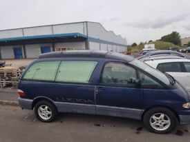 Toyota Lucida in blue full moon roof 8 seater twin sunroof power steering cd/radio air con