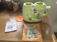 Babycook baby food steamer blender