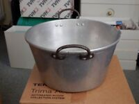 Jam Preserve Pan, Atlas Aluminium and British Made in very good condition.