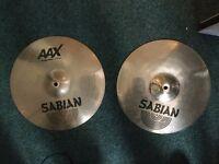 """14"""" Sabian AAX Stage Hi Hats"""