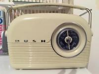 Bush retro style radio am/fm