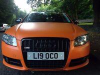 AUDI A4 S LINE TDI 1.9 DIESEL MATTE ORANGE £4250
