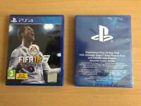 Fifa 18 game with 14 day trial pack