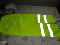 Yellow Hi Viz Trousers (Large)