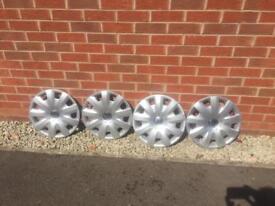 "Vw genuine 15"" wheel trims"
