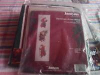 New Christmas cross stitch -Antique Santa Bell Pull by Janlynn