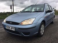 EXCELLENT CONDITION 54 FORD FOCUS ESTATE CL 1.8TDI,FULL SERVICE HISTORY,MOT MAY 18,ONLY 95K MILES