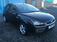 2007 Ford Focus 1.6 Zetec , mot - November 2018 , service history , 2 owners,astra,civic,golf,auris