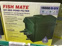 Fish Mate G-UV 15000 Pond Filter BNIB (2 available)