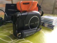 sony dcr dvd608e digital camcorder - excellent condition