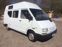 Renault traffic campervan, alpine conversion, MOT 10/08/2017, diesel 2liter