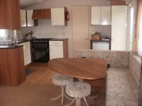 Double glazed centrally heated static holiday home for rent in Valley Farm Clacton on Sea