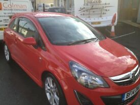 corsa 1.2sxi low milage red with sports pack