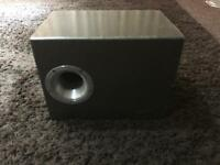10 inch vine subwoofer in custom vibe box