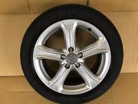 Audi A4/a5 alloys **all-round michelin tyres 5mm