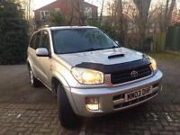RAV4, diesel,6mt MOT,perfect yet cheapest in uk