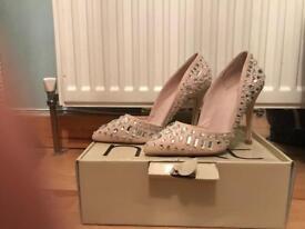 Jewelled heels size 5