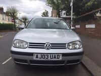 VOLKSWAGEN GOLF 1.6 MATCH 5dr