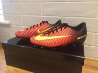 Kids Nike Mercurial football boots size 4 in excellent condition