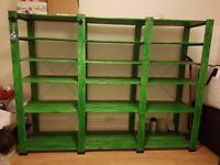 Ikea 3 shelves/ storage (pine) -In perfect condition - HURRY SALE ENDS SOON!