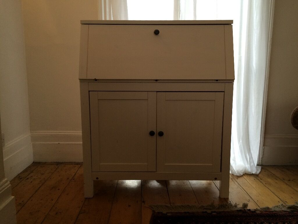 Ikea hemnes bureau white stain in peckham london gumtree