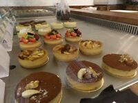 Pastry Chef and Kitchen porter wanted in London