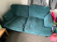2 x 4 seater sofas (Free must collect)
