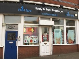 Foot body spa