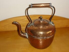Red Copper Kettle